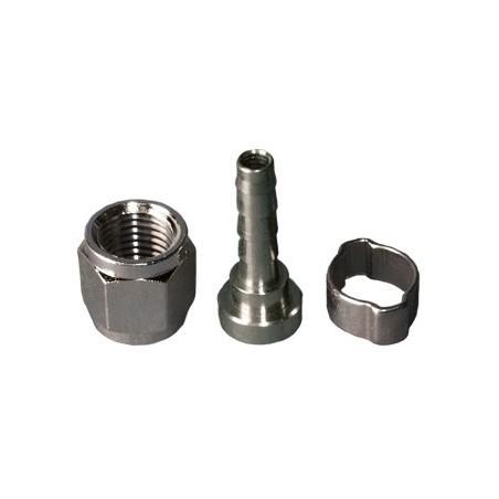 Racord para conector de gas y producto. 8mm