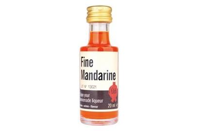 Extracto de licor de Mandarina. 20 ml.