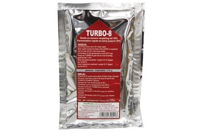 Levadura Turbo-8 para 25litros