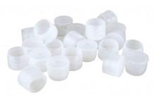 Capsulas plasticas bajo chapa de Champan. 100 ud.