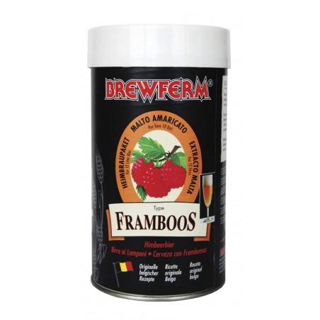 Kit de Cerveza de Frambuesa