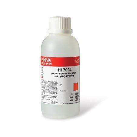 Solucion para calibracion de pHmetros 4,01. 230ml