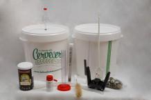 Materiales para elaboracion de cerveza a partir de kit - DELUXE