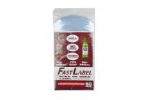 Bolsas para etiquetas FastLabel - botellas 750 ml. Vino y Cerveza - 50 ud.