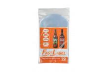 Bolsas para etiquetas FastLabel - botellas 33 cl. Cerveza. - 70 ud.