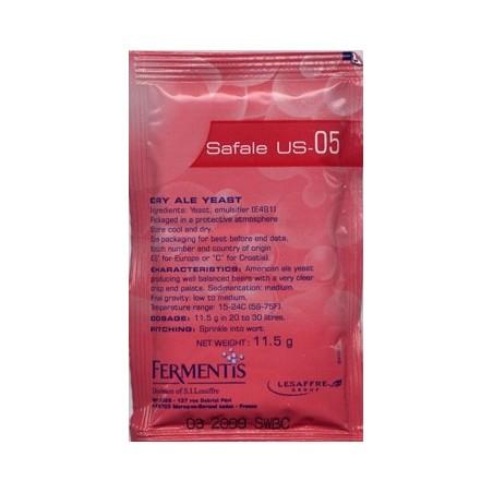 Levadura Safale US-05 Fermentis - 11,5 g