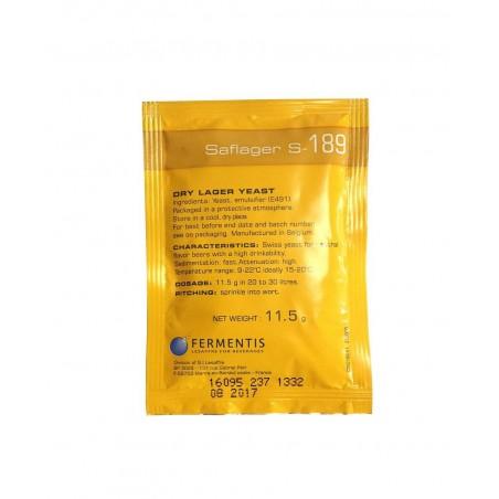Levadura Saflager S-189 Fermentis - 11,5 g