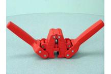 Chapador Manual de Plástico para chapas de 26 y 29 mm.