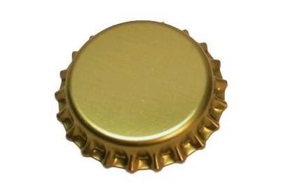 Chapas doradas 26mm.