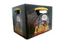 Caja Plastica para botellas de 50cl.