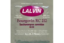 Levadura vino Lalvin Bourgovin RC212 - 5 g