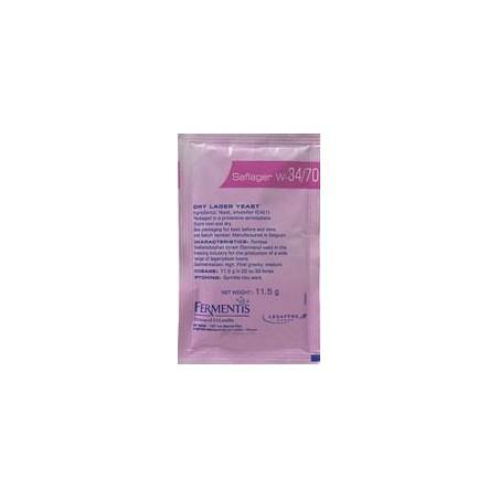 Levadura Saflager W-34/70 Fermentis - 11,5 g