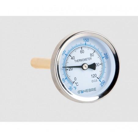 Termometro Bimetalico 63 cm. Posterior