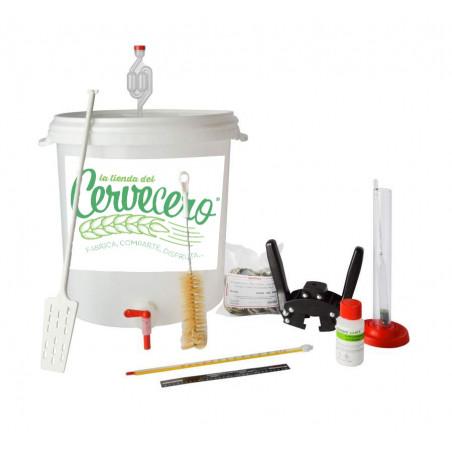 Materiales para elaboracion de cerveza a partir de kit- PLUS