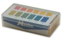 Tiras de papel pH, 1 - 12. 200 ud.