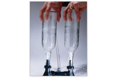 Lavabotellas de agua a presion doble