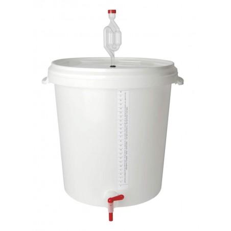 Cubo de fermentación 30 l.