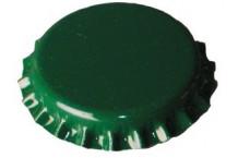 Chapas Verdes 26 mm. - 100 ud.