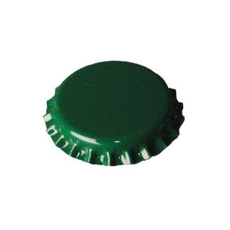 Chapas verdes 26mm. 100uds