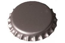 Chapas Plateadas 26 mm - 100 ud. (Acabado Mate)