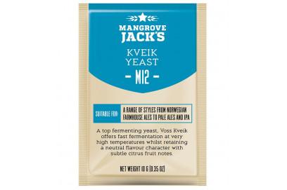 Levadura Mangrove Jack M12 KVEIK Yeast 10 gr,