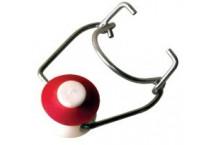 Tapón cerámico con goma roja - 10 ud.