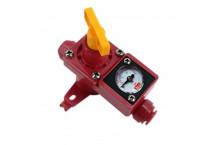 Válvula de Alivio de Presión Ajustable con Manómetro Integrado