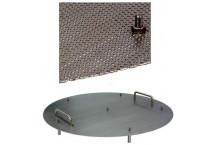 Chapa perforada para doble fondo macerado/hervido