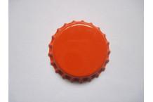 Chapas Naranja 26 mm 100 ud.