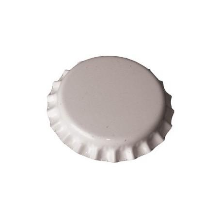 Chapas blancas 26mm.  100uds.