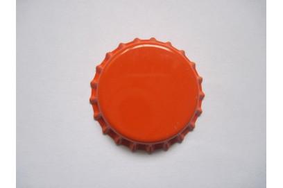 Chapas Naranja 26 mm.100 uds.