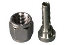Racor para conector de gas y producto. 4 mm