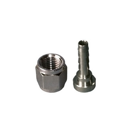 Racord para conector de gas y producto